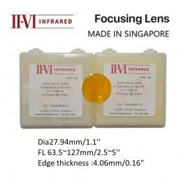 II-VI ZNSE PO/CX Focus Lens...