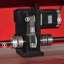 EXLAS-X4 Y-axis Assemly Parts