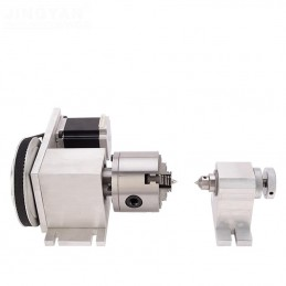 Rotary Axis 4 jaws &...
