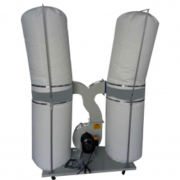 Double bags Dust Collector...