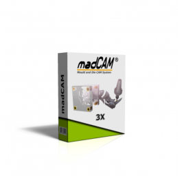 madCAM 3X 3-axis Toolpath...