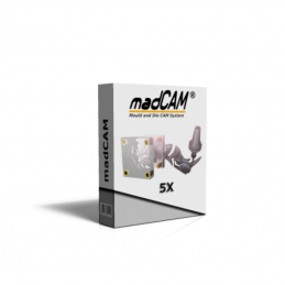 madCAM 5X 5-Axis 3D...