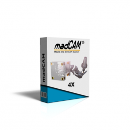 madCAM 4X 4-Axis 3D...