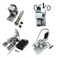 Cutting heads, knife vibration heads, soft material CNC cutting modules