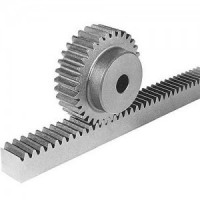 Rack and pinion systems, helical rack, gears, X, Y axis CNC transmission